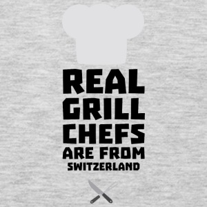 Real Grill Chefs are from Switzerland S0wny Long Sleeve Shirts - Men's Premium Long Sleeve T-Shirt