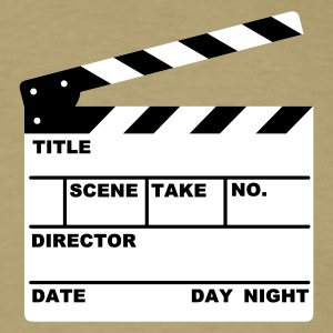 clapperboard  - Men's T-Shirt