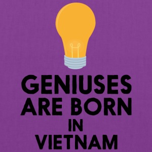 Geniuses are born in VIETNAM S1qha Bags & backpacks - Tote Bag