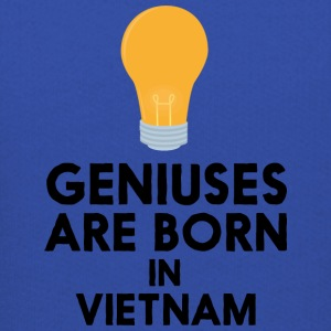 Geniuses are born in VIETNAM S1qha Sweatshirts - Kids' Premium Hoodie