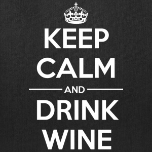 Drinks Keep calm Wine Bags & backpacks - Tote Bag