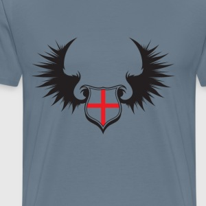 English Emblem - Men's Premium T-Shirt