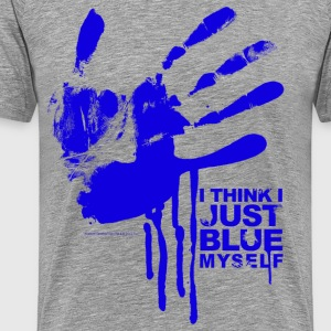 Arrested Development Just Blue Myself Quote - Men's Premium T-Shirt
