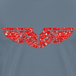 Ruby Eagle Wings - Men's Premium T-Shirt