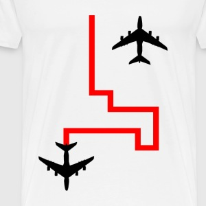 Planes Colour - Men's Premium T-Shirt