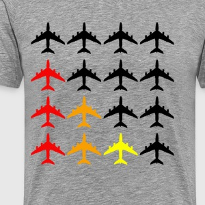Airplane Colours - Men's Premium T-Shirt