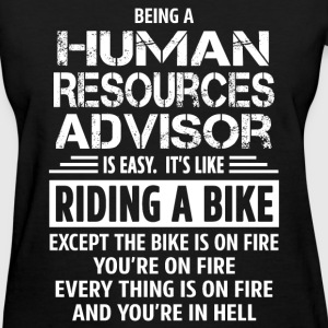 Human Resources Advisor - Women's T-Shirt