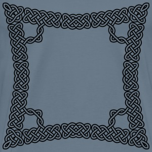 Celtic Knot Frame 5 - Men's Premium T-Shirt