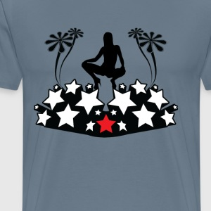 On top of the stars - Men's Premium T-Shirt