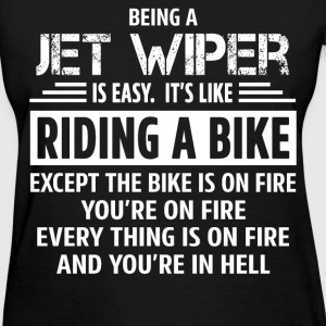 Jet Wiper - Women's T-Shirt