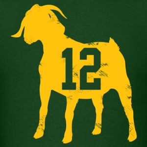 Aaron Rodgers GOAT T-Shirts - Men's T-Shirt