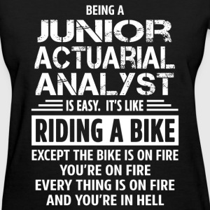Junior Actuarial Analyst - Women's T-Shirt