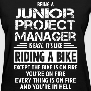 Junior Project Manager - Women's T-Shirt