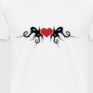 Love Heart - Men's Premium T-Shirt