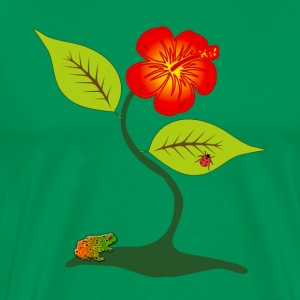 Plant and flower - Men's Premium T-Shirt