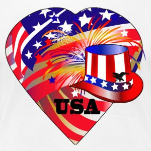 Love USA - Women's Premium T-Shirt