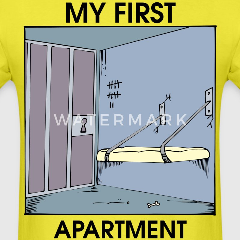my first apartment t shirts men 39 s t shirt