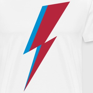 Bowie Flash, Hero, Music, Blackstar, Rebel, Space T-Shirts - Men's Premium T-Shirt
