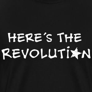 Revolution, Politics, Music, Star, Anarchy,  T-Shirts - Men's Premium T-Shirt