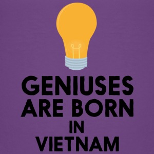 Geniuses are born in VIETNAM S1qha Baby & Toddler Shirts - Toddler Premium T-Shirt