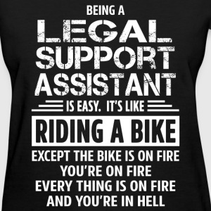 Legal Support Assistant - Women's T-Shirt
