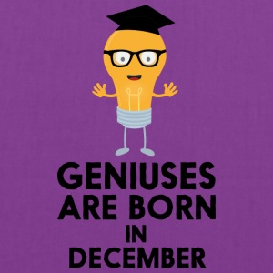 Geniuses are born in DECEMBER Sg7p9 Bags & backpacks - Tote Bag