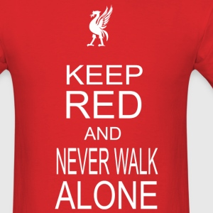 keep red - Men's T-Shirt