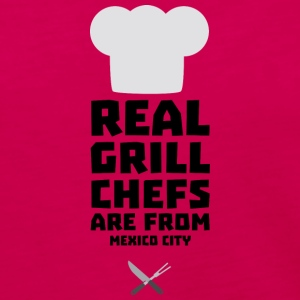 Real Grill Chefs are from Mexico City Ss6ry Long Sleeve Shirts - Women's Premium Long Sleeve T-Shirt