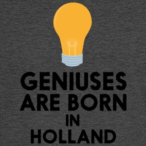 Geniuses are born in HOLLAND Sam22 Long Sleeve Shirts - Men's Long Sleeve T-Shirt