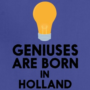 Geniuses are born in HOLLAND Sam22 Aprons - Adjustable Apron