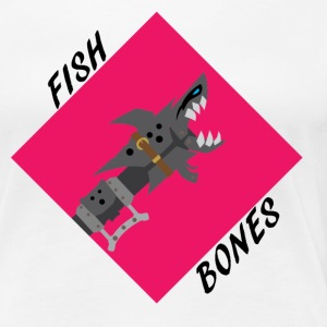 League jinx Fishbones T-Shirts - Women's Premium T-Shirt