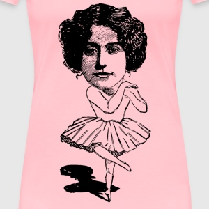 Ballet Lady - Women's Premium T-Shirt