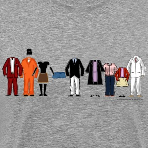 Arrested Development Bluth Family Lineup - Men's Premium T-Shirt