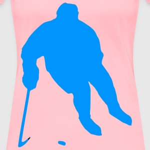 Silhouette Hockey 01 - Women's Premium T-Shirt