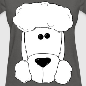 poodle face - Women's T-Shirt
