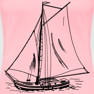 Sailboat 4 - Women's Premium T-Shirt