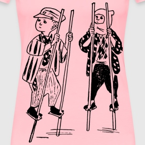 Kids on Stilts - Women's Premium T-Shirt