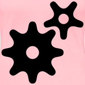 gear wheels - Women's Premium T-Shirt