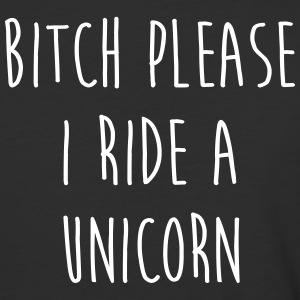 Ride A Unicorn Funny Quote T-Shirts - Baseball T-Shirt