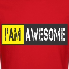 im_awesome Long Sleeve Shirts