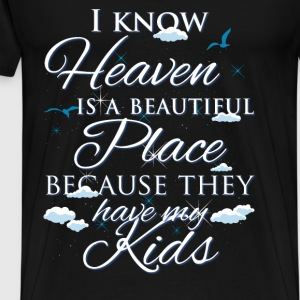 Kids., heaven - Men's Premium T-Shirt