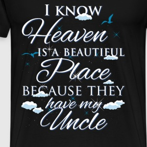 Uncle., heaven - Men's Premium T-Shirt