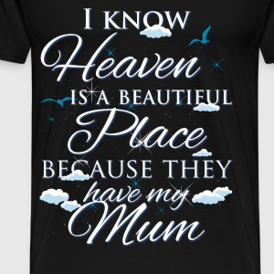 Mom., heaven - Men's Premium T-Shirt