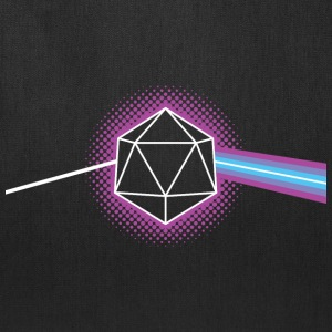 Dungeons & Dragons d20 Pink Floyd Dark Side of the - Tote Bag