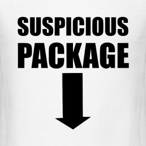 Suspicious Package - Men's T-Shirt