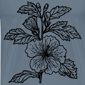 Hibiscus - Men's Premium T-Shirt