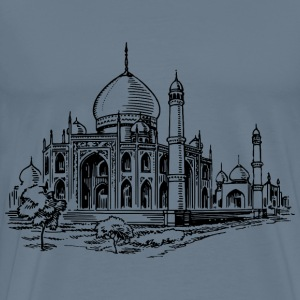 Mosque 2 - Men's Premium T-Shirt