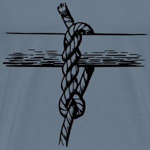 Hitch knot - Men's Premium T-Shirt