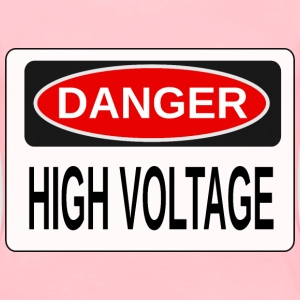 Danger High Voltage (Alt 3) - Women's Premium T-Shirt