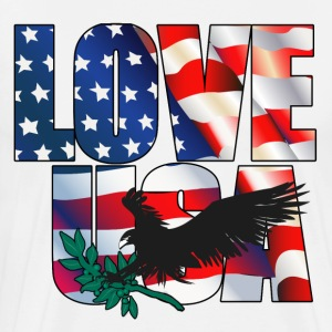 Love USA - Men's Premium T-Shirt